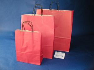 Papiertaschen farbig