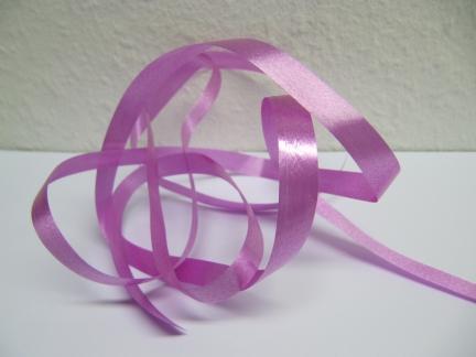 Ringelband / Kräuselband  Pink  10mm x 250meter