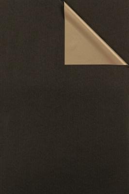 Geschenkpapier Gold - Schwarz