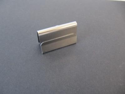 Kartenhalter - Preisschildhalter Metall 3x2 cm