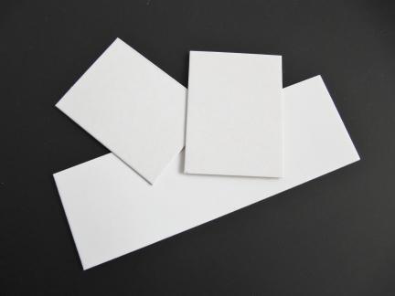 Preisschilder weiß blanco