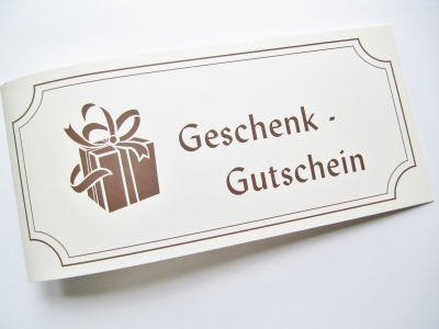 Geschenkgutschein  Päckchen