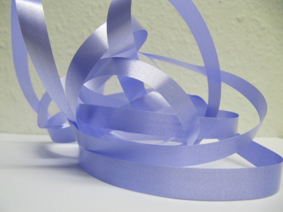 Ringelband / Kräuselband  Flieder  10mm x 250meter