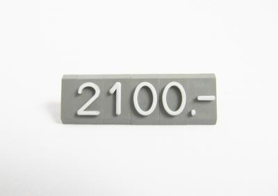Preisziffern MIDI Compact grau/weiß 1312