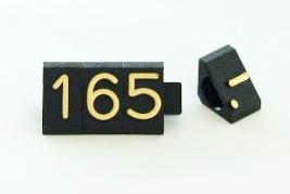 Preisziffern MIDI Compact schwarz/gold 1311