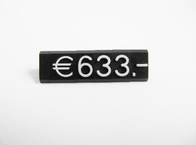 Preisziffern MIDI Compact schwarz/weiß 1310