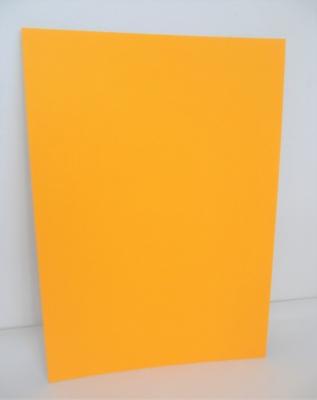 A4 Plakatkarton orange