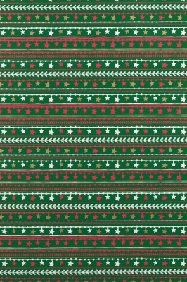 Geschenkpapier Weihnachten gestreit Sterne