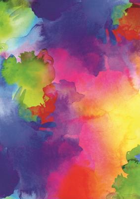 Geschenkpapier Aquarell Farbverlauf