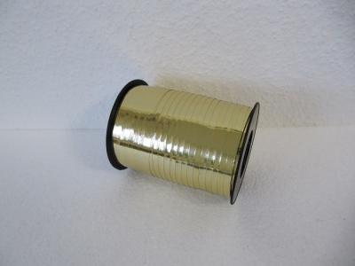 Ringelband / Kräuselband Metallic GOLD