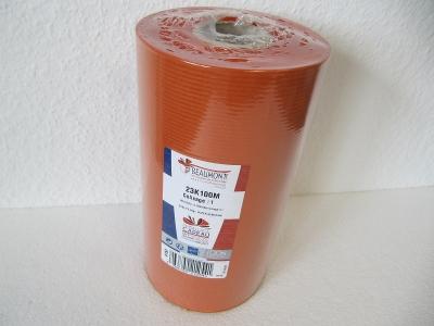 Geschenkpapier Kraftpapier orange