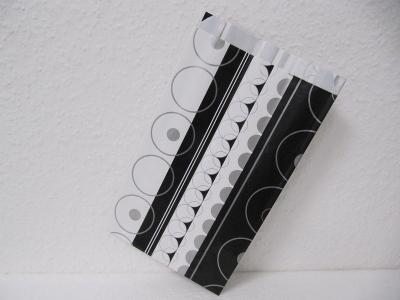 Flachbeutel BLACK&WHITE - 250 Stück