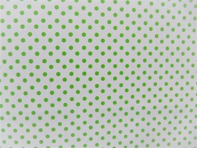 Geschenkpapier grüne Pünkchen