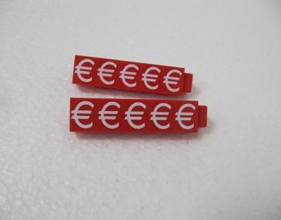 €-Zeichen Jumbo rot 11mm
