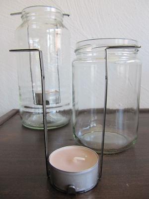 Teelichthaltereinsatz Metall