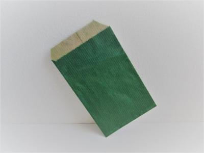 Flachbeutel Kraftpapier GRÜN - 250 Stück