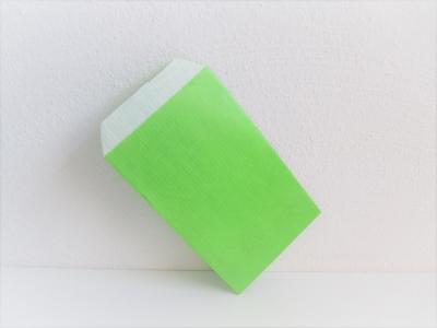 Flachbeutel Geschenkpapiertaschen Kraftpapier HellGRÜN - 250 Stück