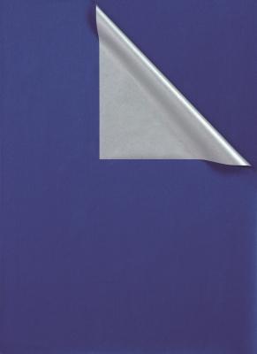 Geschenkpapier Blau -Silber