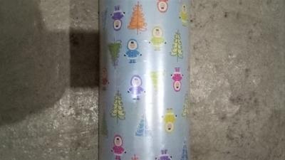 Geschenkpapier Weihnachten Eisblau - Eskimo