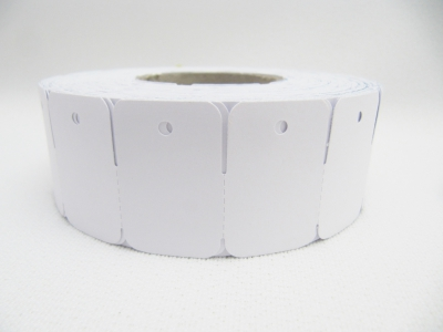 Kartonetiketten 24x36 mm