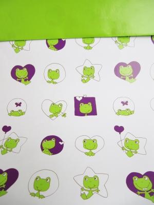 Geschenkpapier Kinder - Frösche