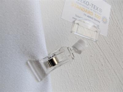 Acryl Preisschildklammer 7 cm