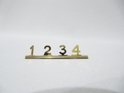 Preisziffern gold 8mm - Restposten