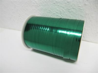 Ringelband / Kräuselband  Metallic Grün