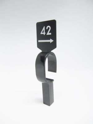 Stangenreiter Gewicht schwarz 15cm