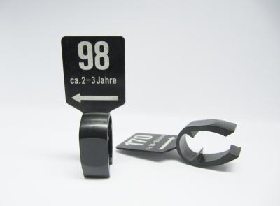 Stangenreiter schwarz 8cm - Gr.+ Alter