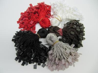 Sicherheitsfäden textil Baumwolle braun, grau, rot, weiß 180-200 mm