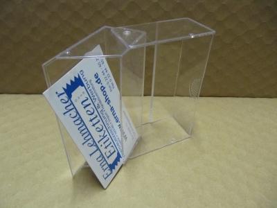Acryl Visitenkartenbox